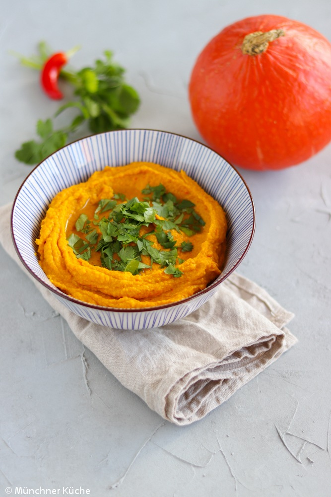 Rezept Kürbis-Hummus