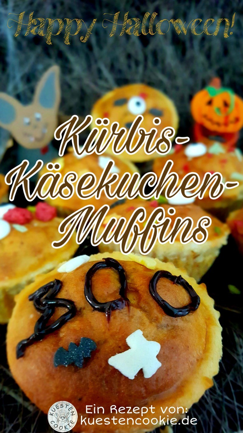 Rezept Kürbis-Käsekuchen-Muffins