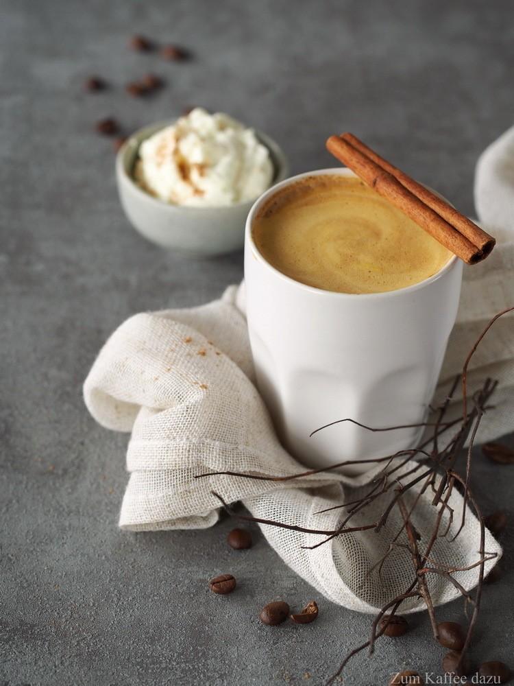 Rezept Kürbis-Latte Macchiato mit weißer Schokolade