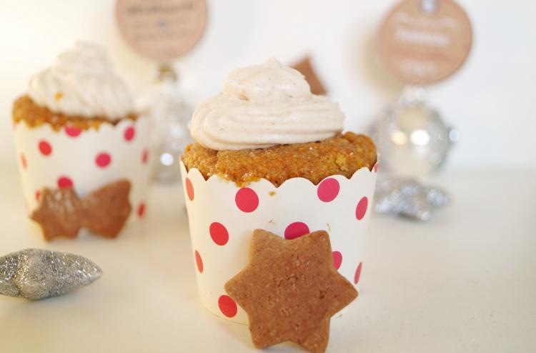 Rezept Kürbis Lebkuchen Cupcakes