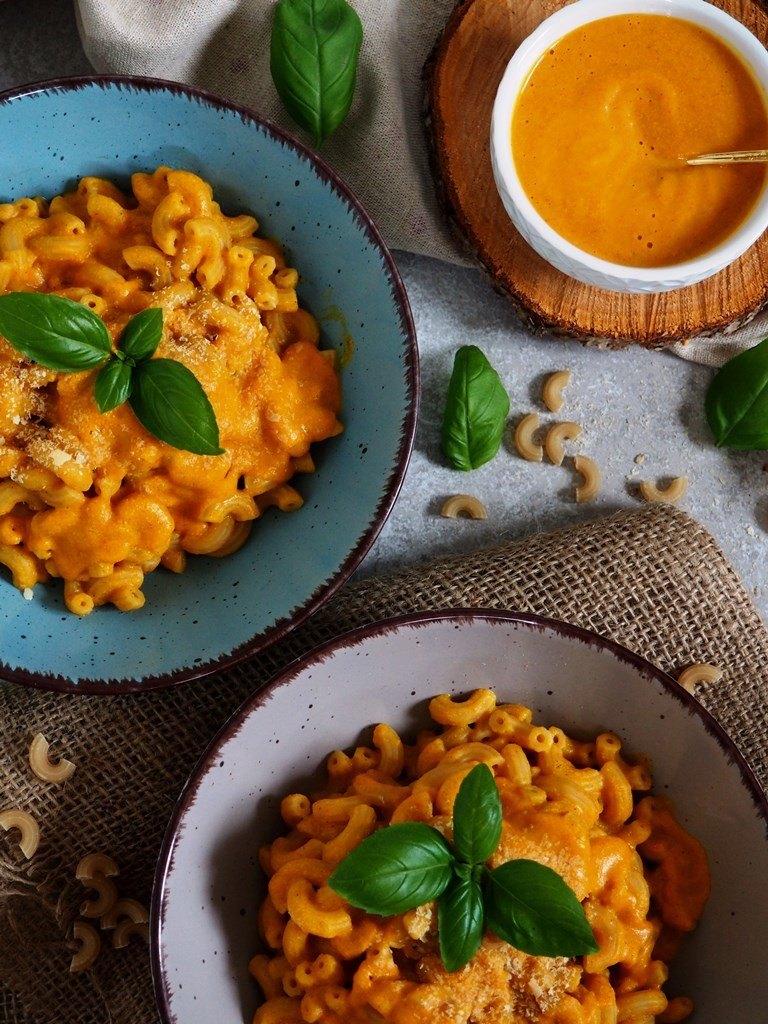 Rezept Kürbis Mac and Cheese vegan