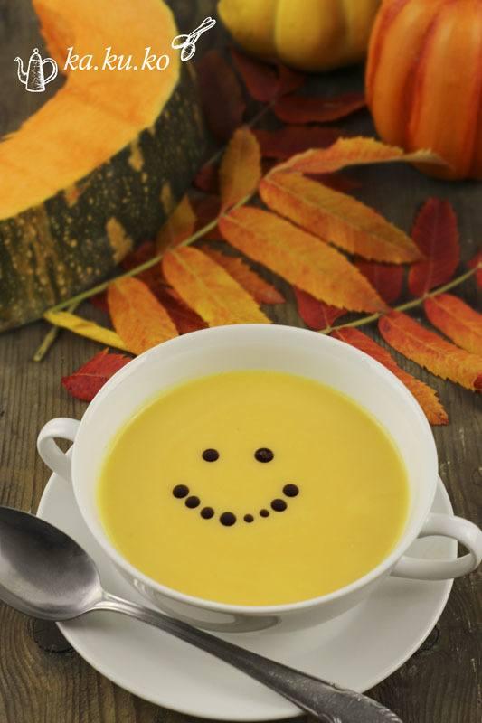 Rezept Kürbis-Orangen-Suppe