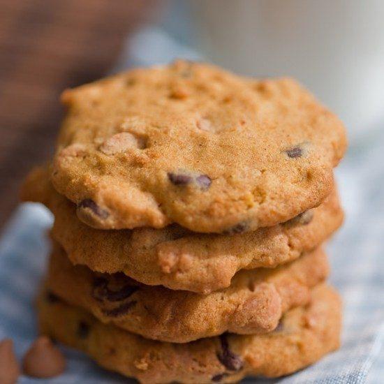 Rezept Kürbiskekse - Pumpkin Cookies