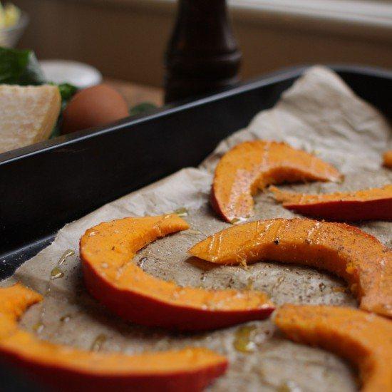 Rezept Kürbisspalten aus dem Ofen