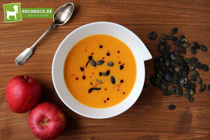 Rezept Kürbissuppe mit Apfel