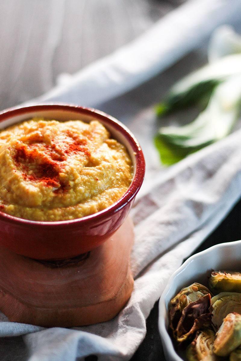 Rezept Kurkuma Hummus