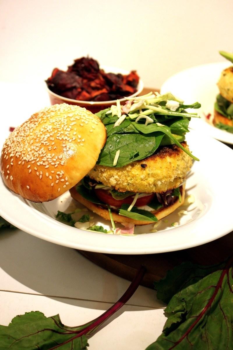 Rezept Lachs - Hamburger