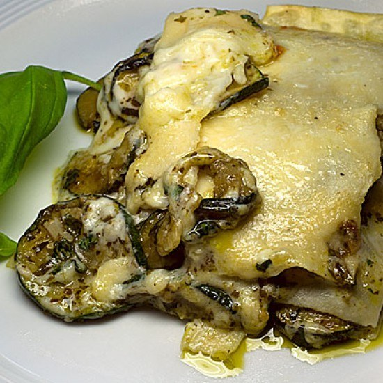 Rezept Lasagne con Zucchini