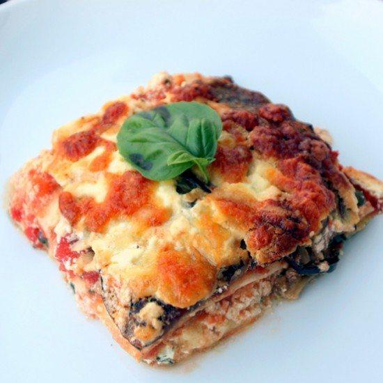 Rezept Lasagne mit ofengeröstetem Gemüse