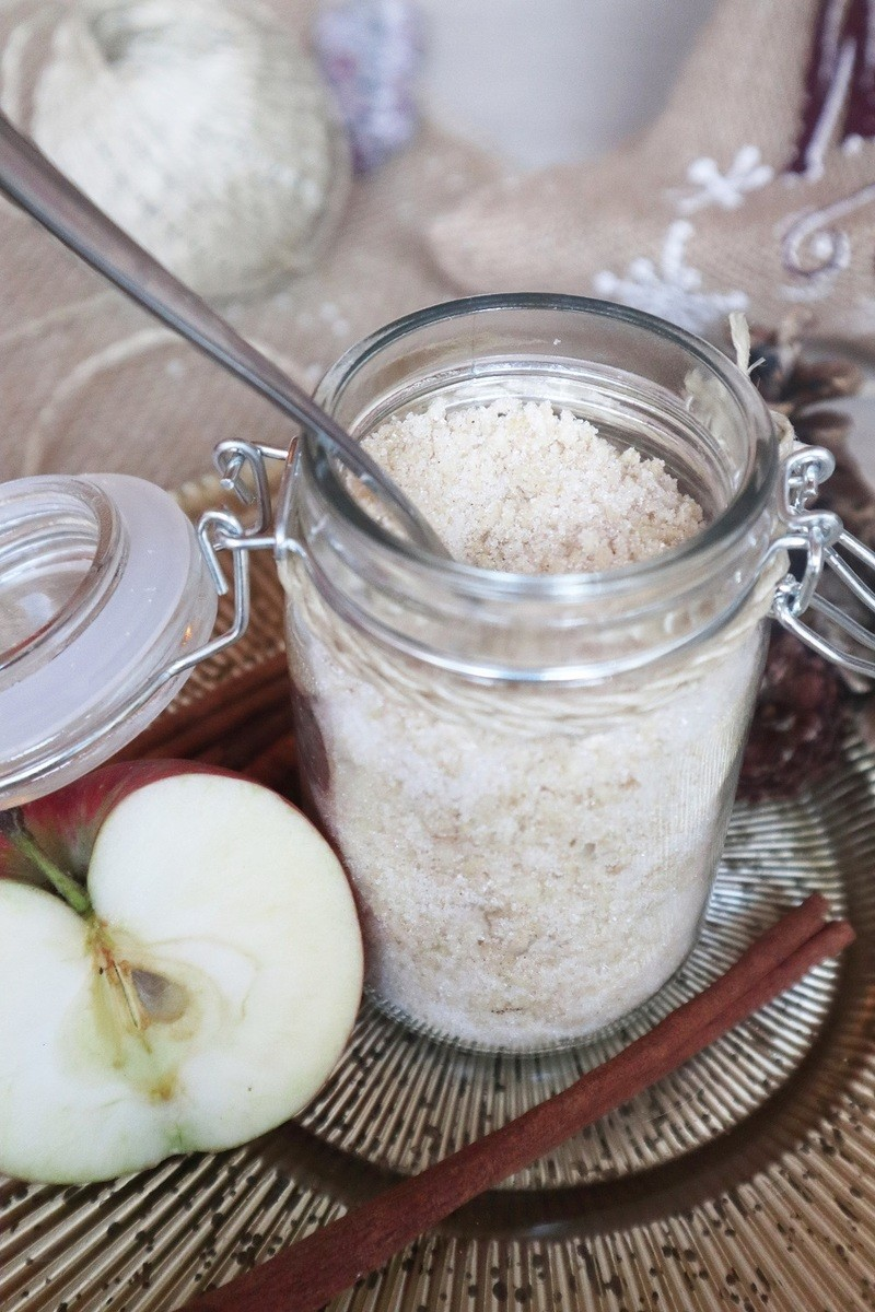 Last-Minute-Geschenkidee aus der Küche: Bratapfelzucker
