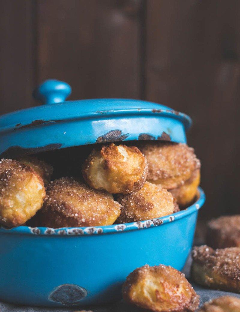 Rezept Laugenkonfekt aus Brioche Teig mit Zimt und Zucker