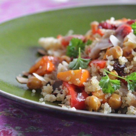 Rezept Lauwarmer Quinoa-Salat