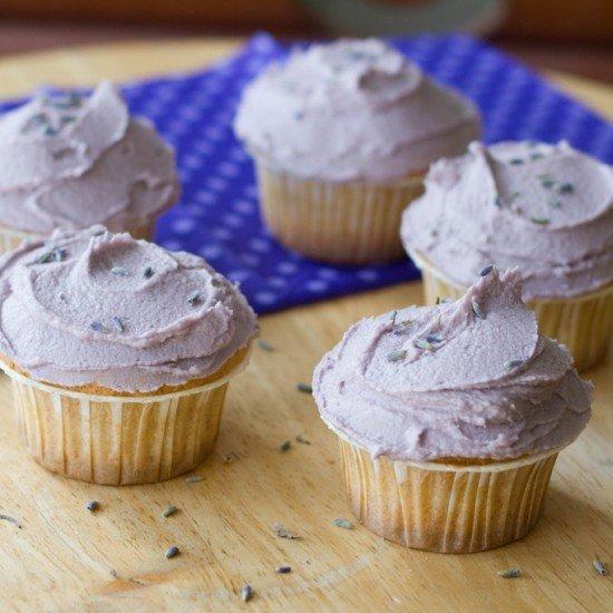 Rezept Lavendel-Cupcakes