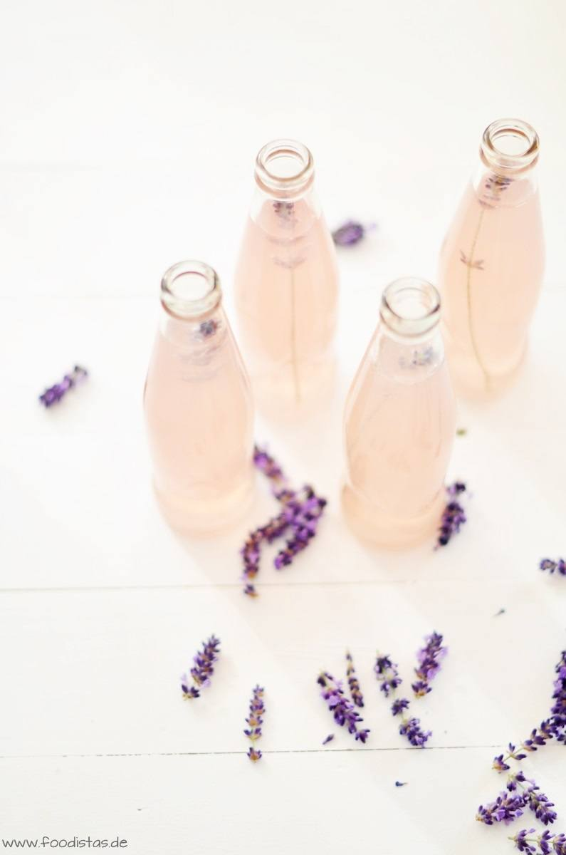 Rezept Lavendel Zitronen Limonade