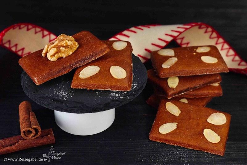 Rezept Lebkuchen – der Klassiker als kleine Knusperkekse