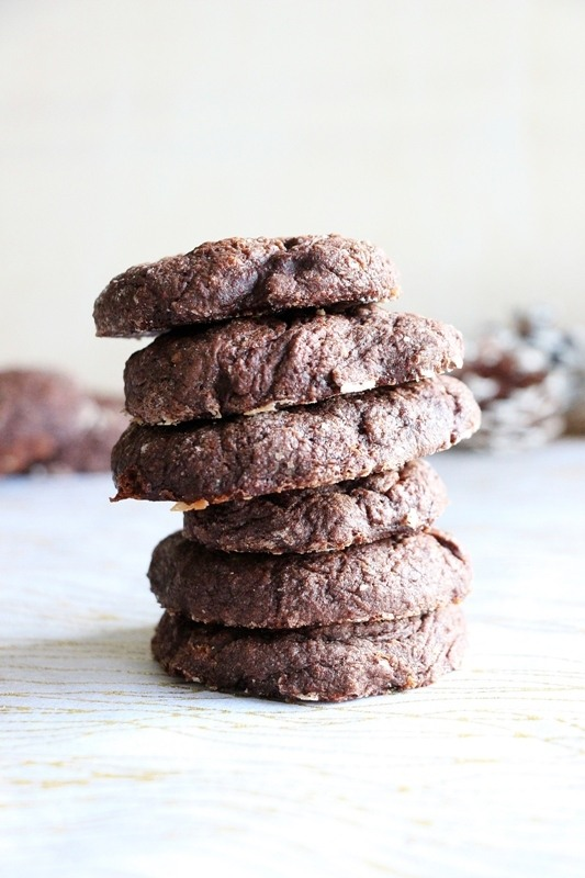 Rezept Lebkuchen - Schokoladen - Cookies
