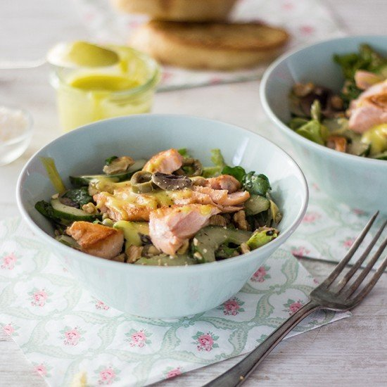 Rezept Leichter Lachssalat