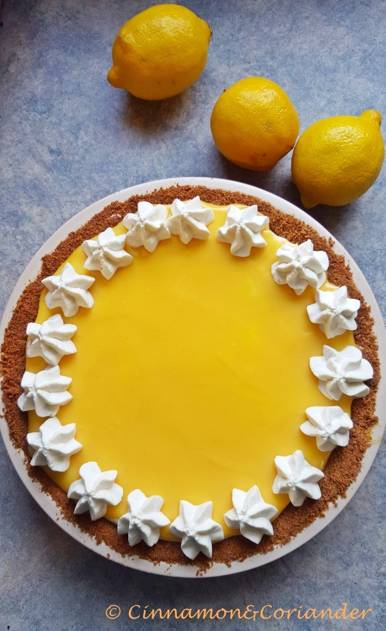 Rezept Lemon Curd Mousse Pie