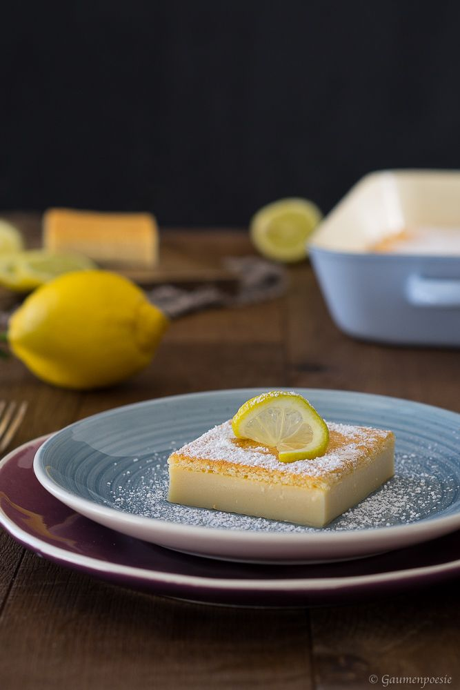 Rezept Lemon Magic Cake