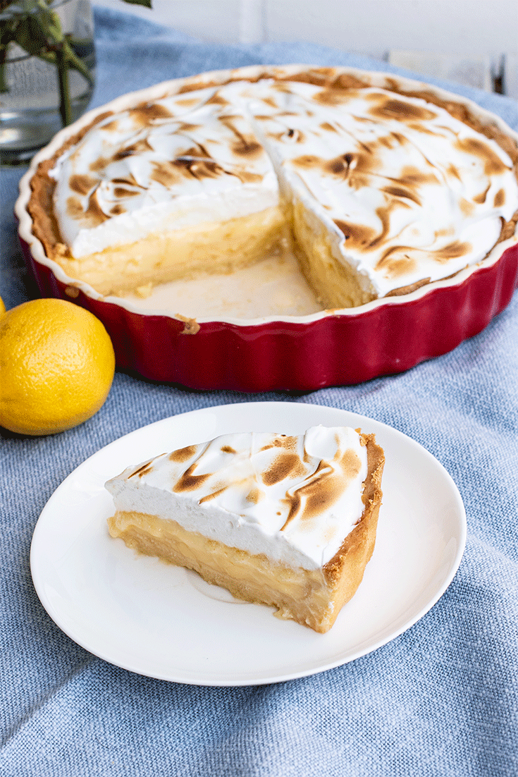 Rezept Lemon Meringue Tarte