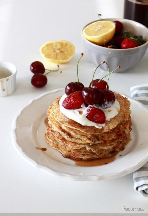 Rezept Lemon Poppyseed Pancakes