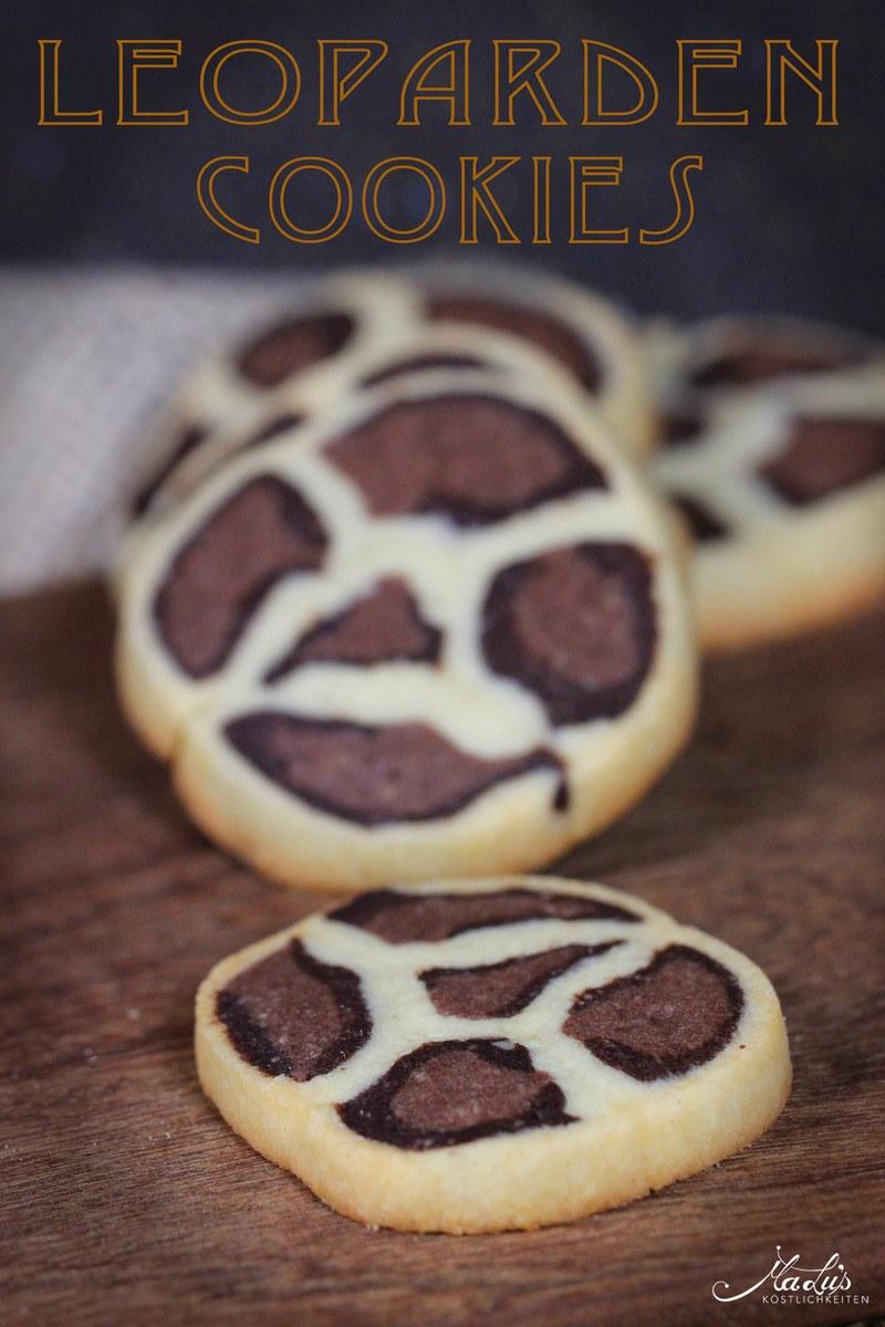 Rezept Leoparden Cookies