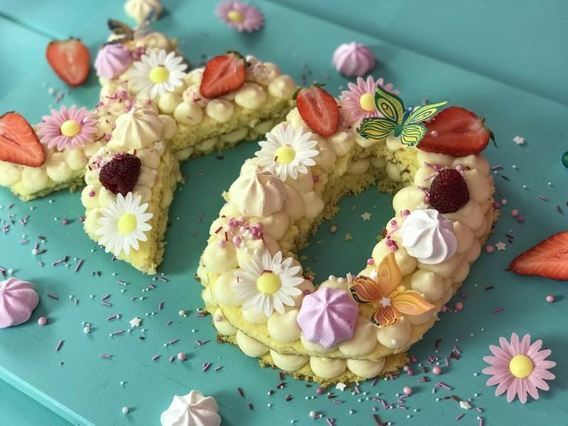 Rezept Letter Cake/ Number Cake