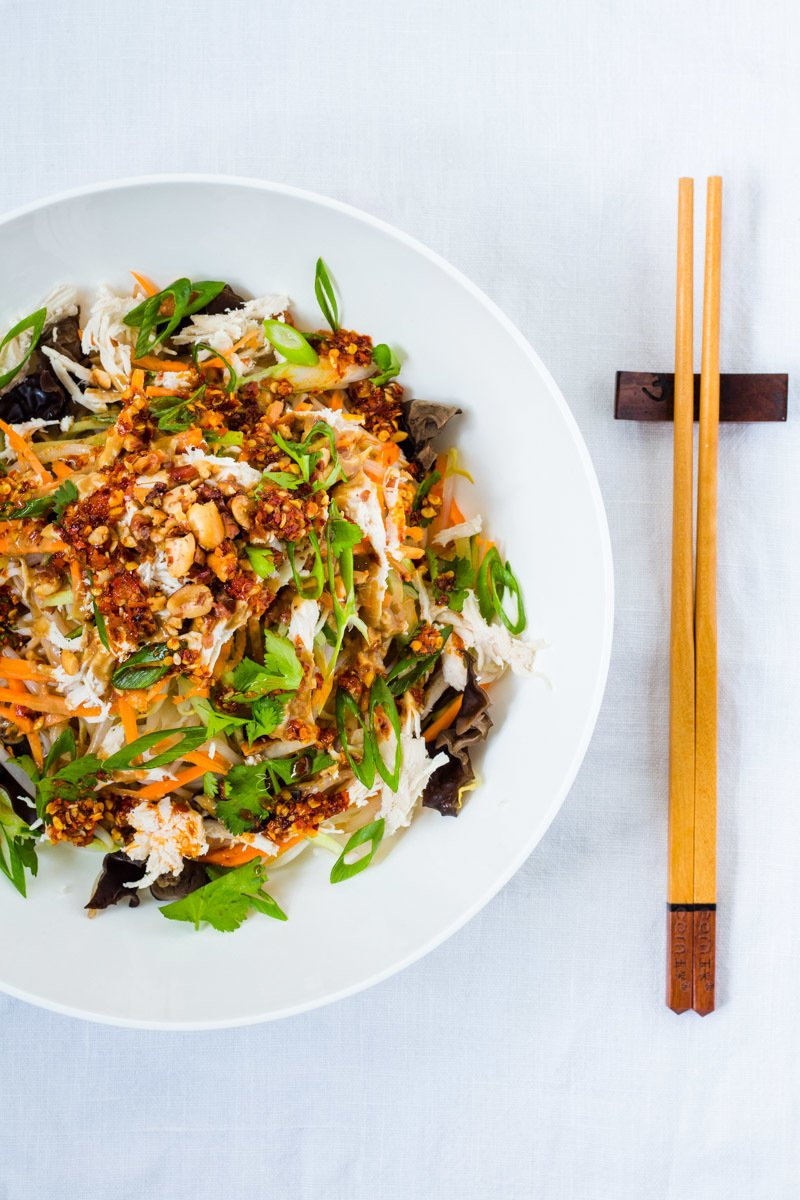 Rezept Liang Mian - Chinesische Kalte Nudeln