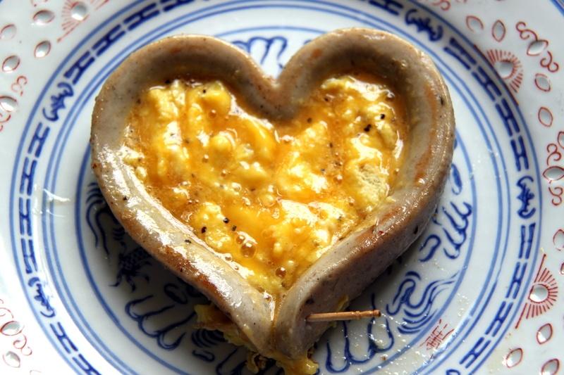 Rezept Liebes-Fruehstueck am Valentinstag