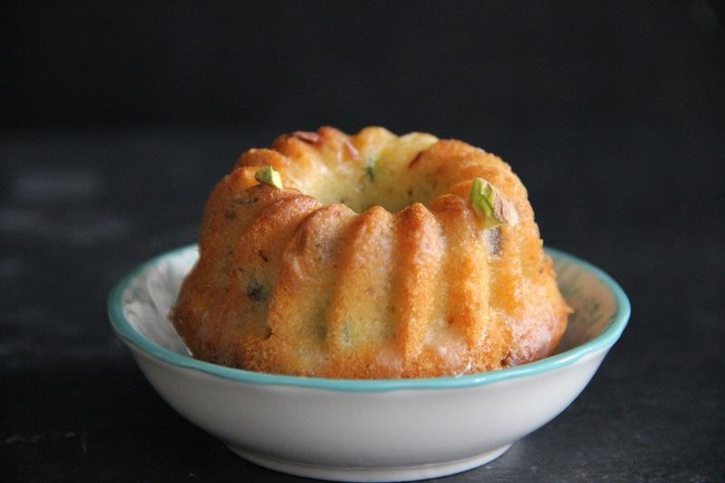 Rezept Limetten-Zucchini-Kuchen mit Joghurtfrosting