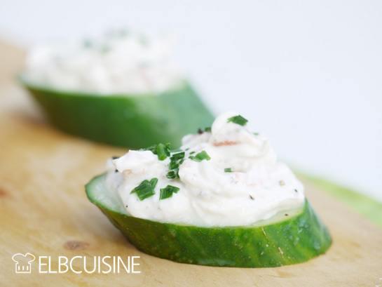 Rezept Low-Carb-Gurken-Lachs-Snack für den kleinen Hunger
