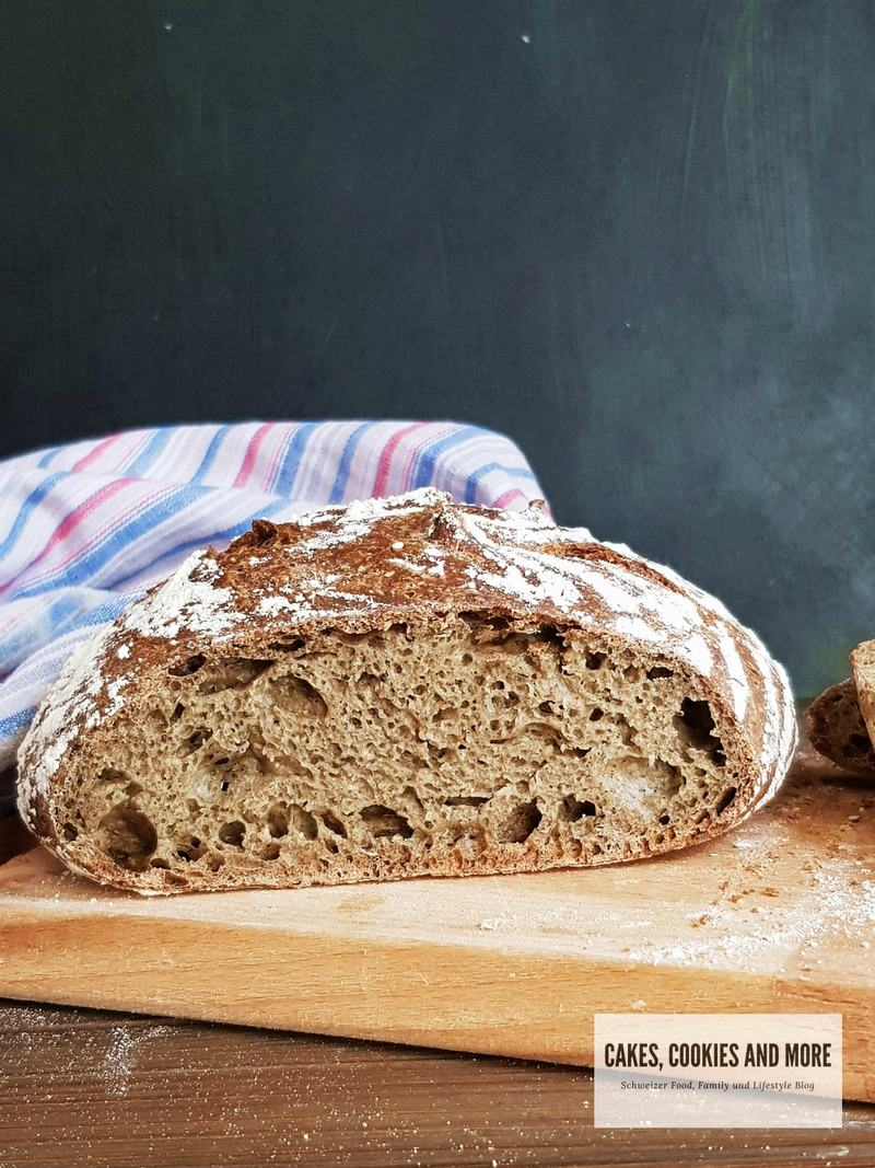 Rezept Lower Carb No Knead Brot