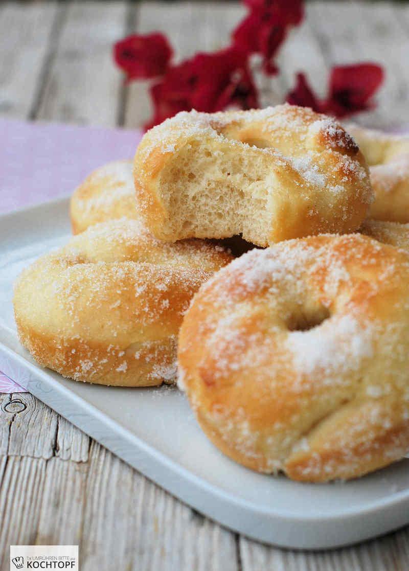Rezept Luftige Hefe-Doughnuts