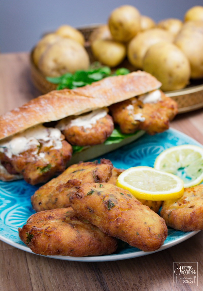 Rezept Maaqouda - Marokkanische Kartoffelplätzchen