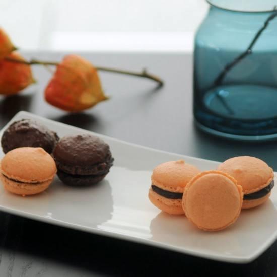 Rezept Macarons à chocolat orange