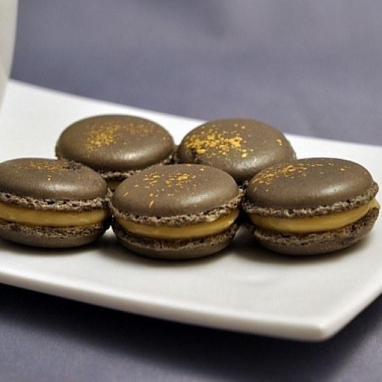 Rezept Macarons mit Salzbutter-Karamell-Creme