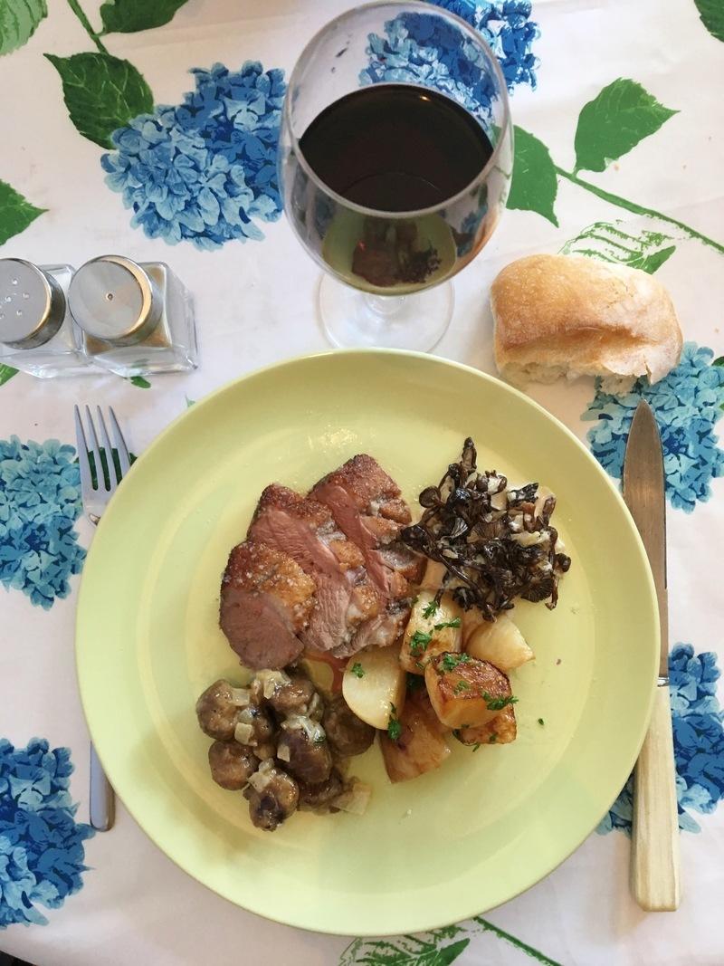 Rezept Magret de canard en croûte de sel (Entenbrust im Salzmantel)