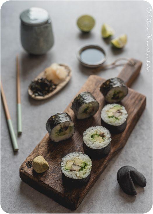 Rezept Maki Sushi mit Pfeffermakrele