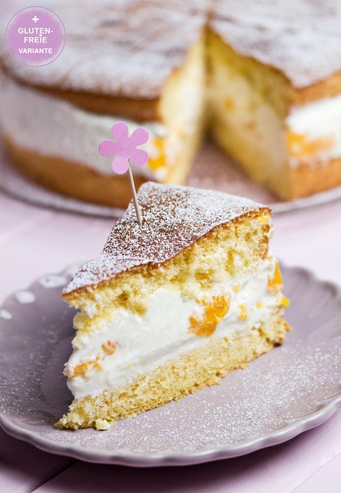 Rezept Mandarinen-Käse-Sahne-Torte