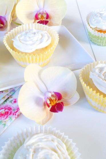 Rezept Mandarinen Vanille Cupcakes