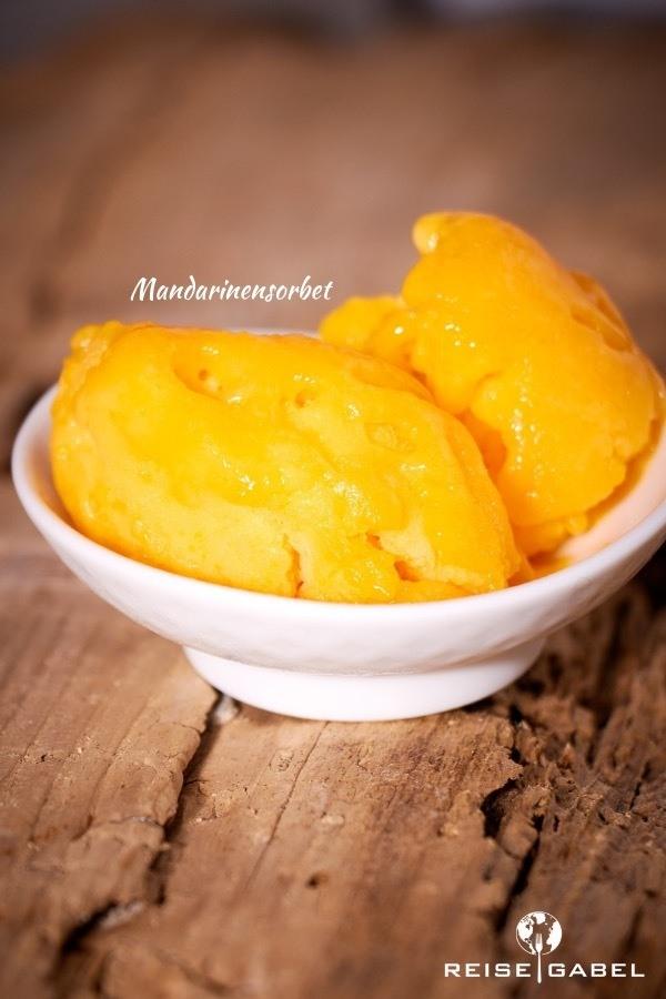 Rezept Mandarinensorbet