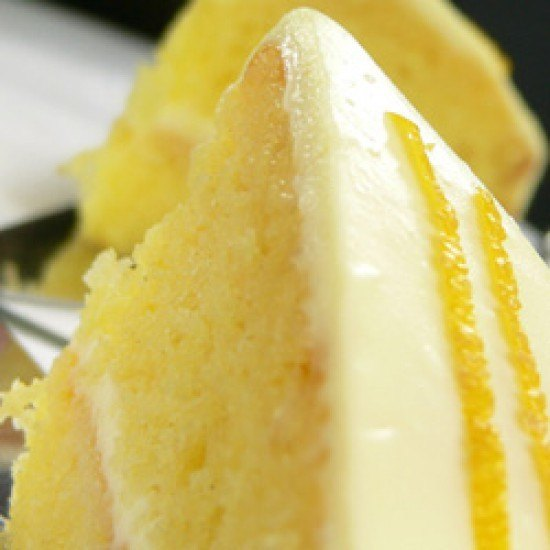 Rezept Mandarinentorte mit Lemon Curd