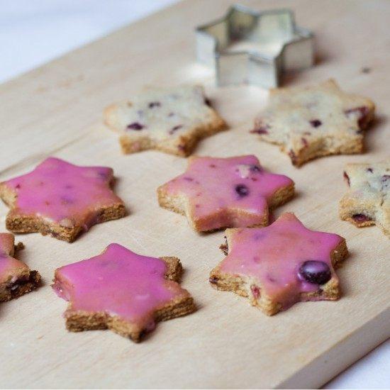 Rezept Mandel-Cranberry-Kekse