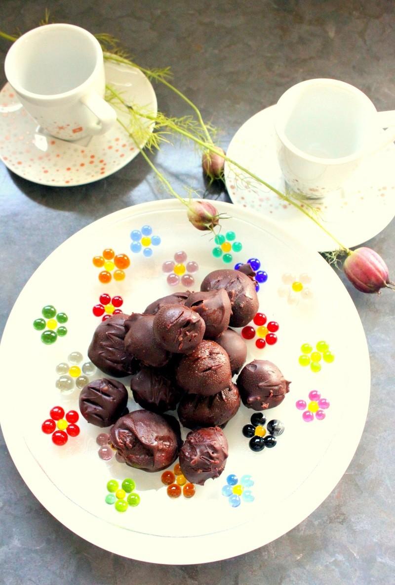 Rezept Mandel Pralinen - Glutenfrei