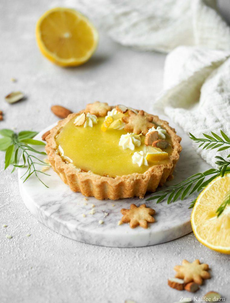 Rezept Mandel-Tartelettes mit Tonka und Zitrone