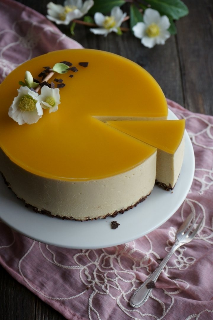 Rezept Mango Cheesecake no-bake