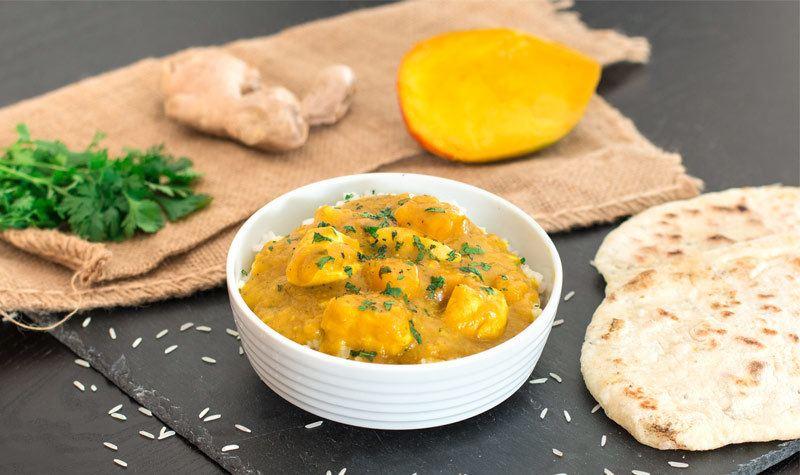 Rezept Mango-Chicken-Curry mit Gewürzreis