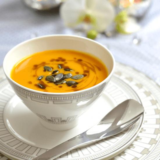 Rezept Mango-Kürbiscreme-Suppe