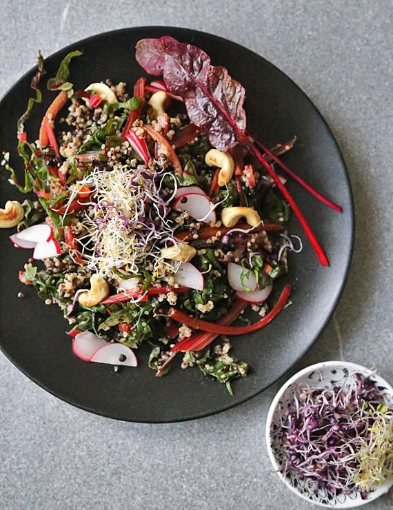 Rezept Mangold-Quinoa-Salat