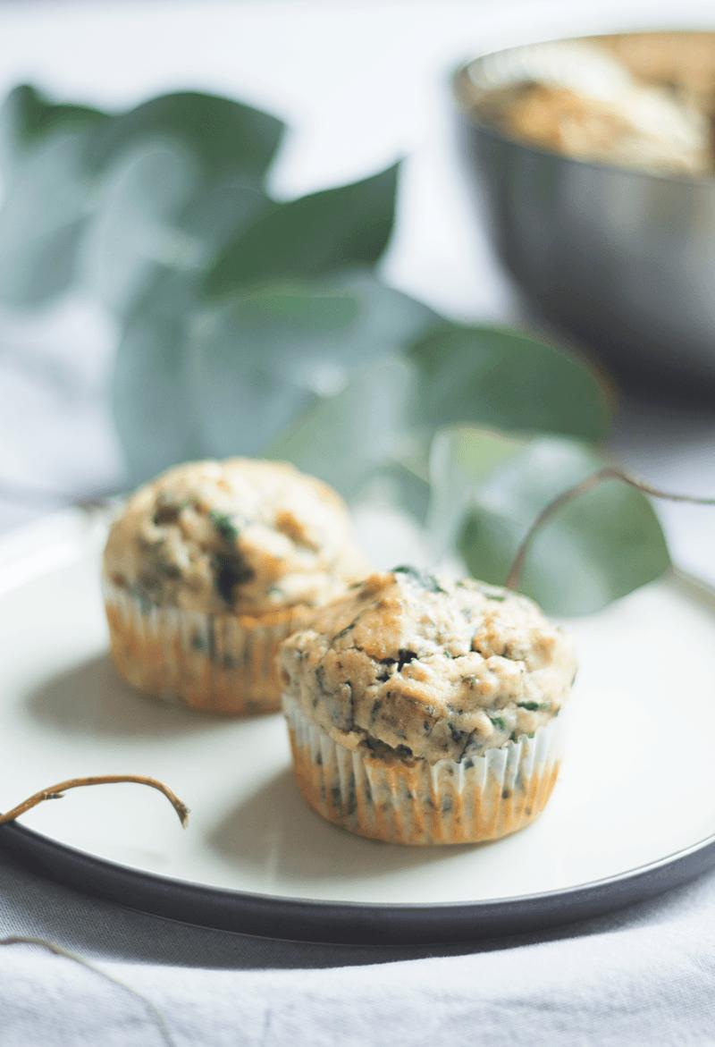 Rezept Mangold-Ricotta-Muffins mit Mandeln